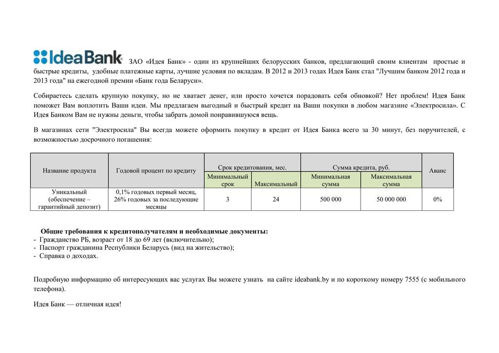 Годовой процент по кредиту