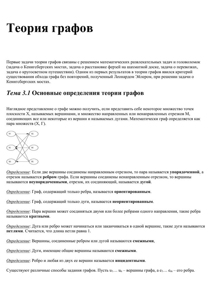 Ориентированные графы задачи с решениями решение задач на уравнивание данных