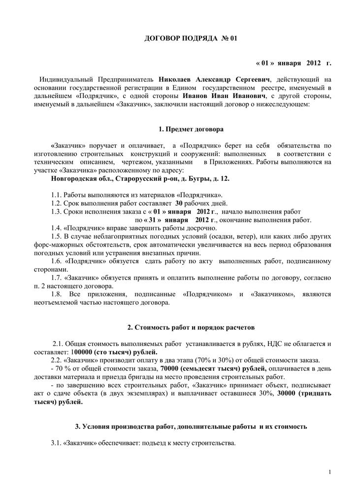 Договор займа между физлицом и юрлицом 2019