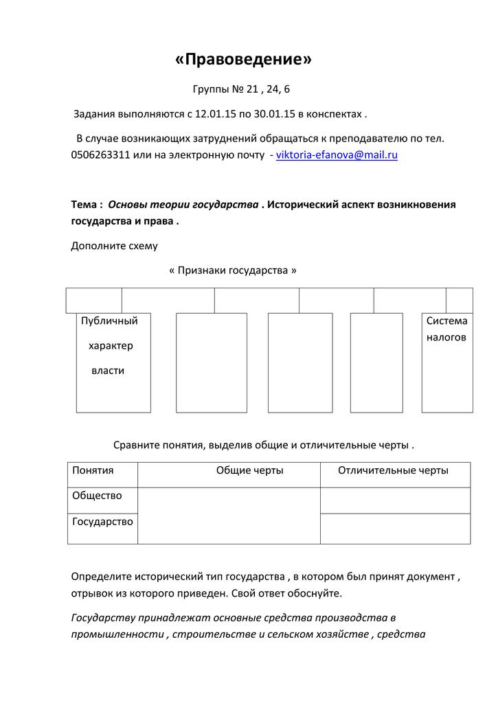 Темы для докладов по правоведению 7968