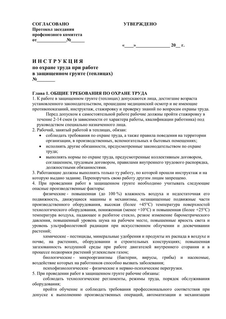 Инструкция инспектора дпс