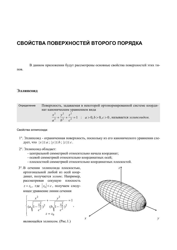 Контрольная работа поверхности второго порядка решение задач решение задач по теме векторы 8 класс