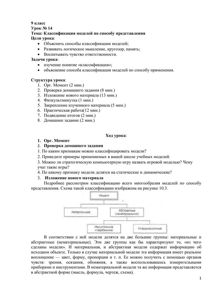 Практическая работа классификация моделей 3d модели готовые работы