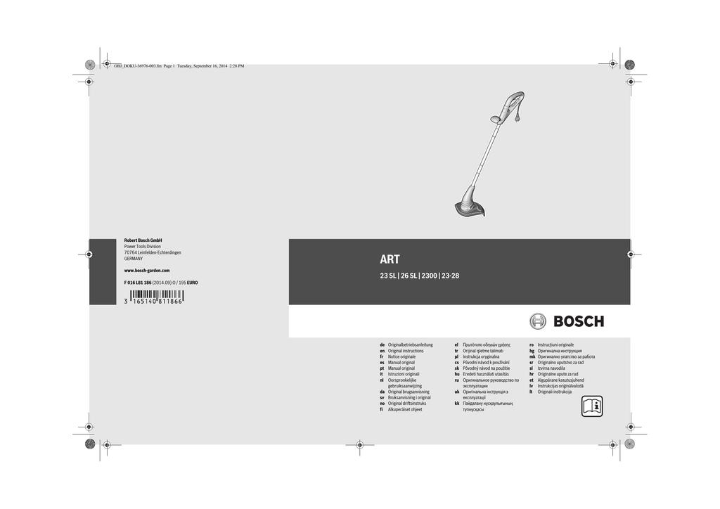 23 Sl 26 Sl 2300 23 28 Bosch Elektrowerkzeuge Für Heimwerker