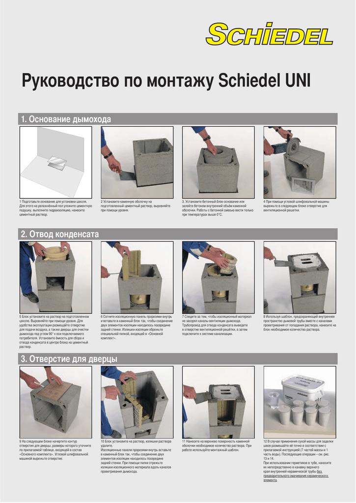 Цементный раствор для дымохода бетон щелково купить с доставкой