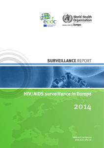 HIV/AIDS surveillance in Europe - European Centre for Disease
