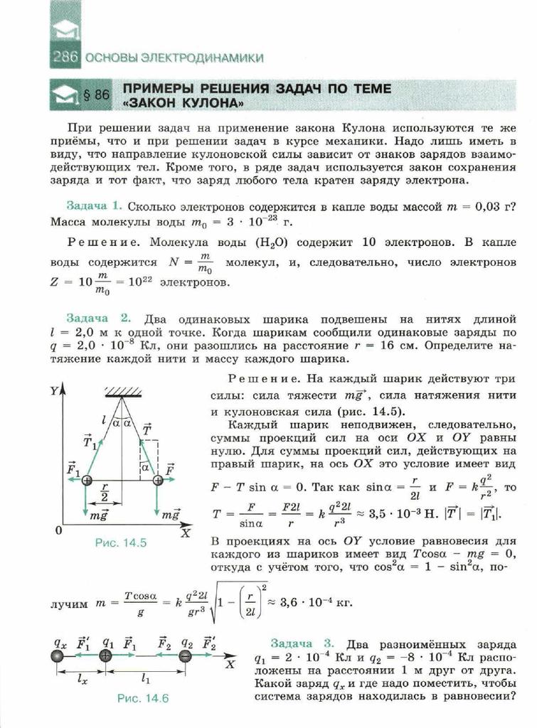 Решения задач на тему электродинамика решение задач по финансы предприятий