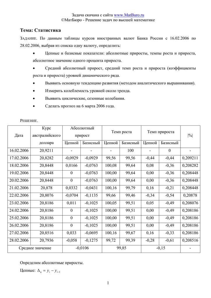 Задачи по статистике с решением примеры решение задач из куперштейн