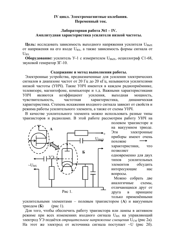 Параметры и характеристики Операционных Усилителей   Основы ...   1024x717