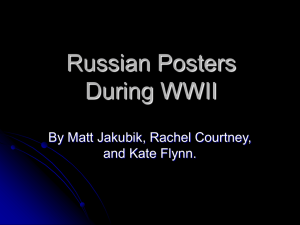 Russian Posters During WWII