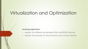 Virtualization and Optimization