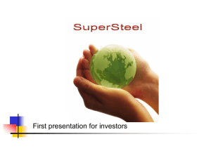 SuperSteel nano-technology product, and