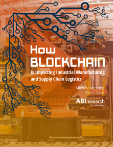 ABI Research Blockchain Impacting Industrial Manufacturing 04112018