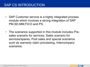 SAP-CS-Presentation-ppt