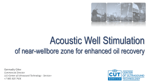 Acoustic Well Stimulation