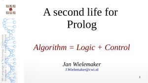 A second life for Prolog
