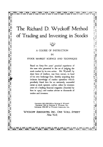 Methods of Trading