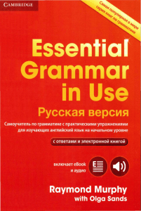 Essential Grammar in Use Русск верс