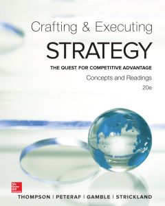 Arthur Thompson, A. J. Strickland III, John Gamble - Crafting and Executing Strategy  Concepts and Readings (2015, McGraw-Hill Education)
