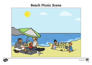 Beach Picnic Scene W Answers