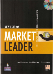 New Market Leader - Elementary Course book
