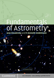 FUNDAMENTALS OF ASTROMETRY/Основы астрометрии
