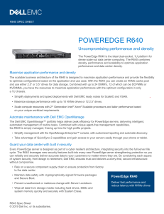 poweredge r640 spec sheet