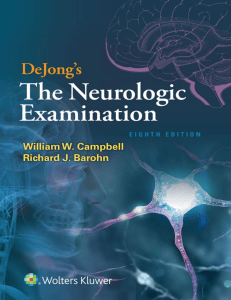 DeJong s The Neurologic Examination Campbell 8 ed 2020 (1)