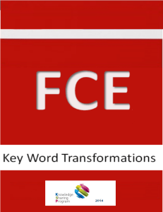 1fce key word transformations with keys