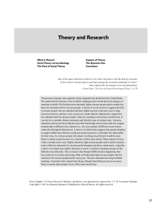 Neuman - theory and research