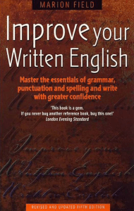 Field Marion. Improve Your Written English